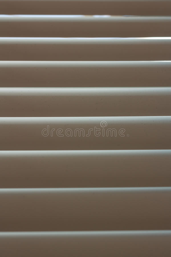 Zonneblindenclose-up stock afbeelding