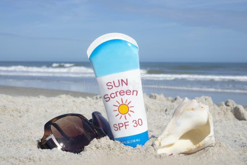 zonnescherm stock foto