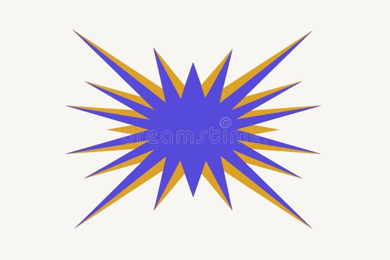 zonnestraal royalty-vrije illustratie
