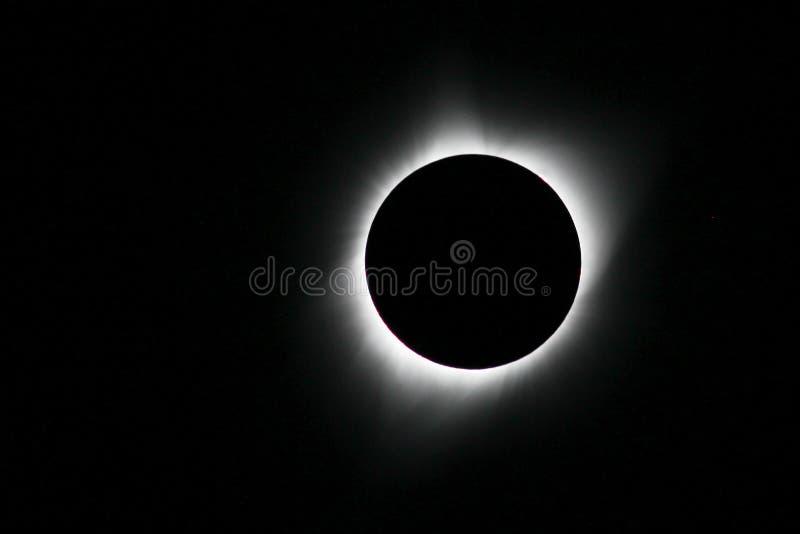 Zonneverduistering van 21 Augustus, 2017 stock afbeeldingen