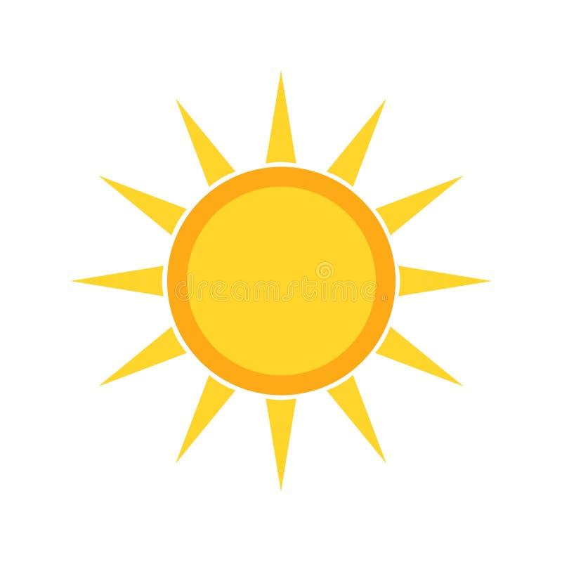 zonnig royalty-vrije illustratie