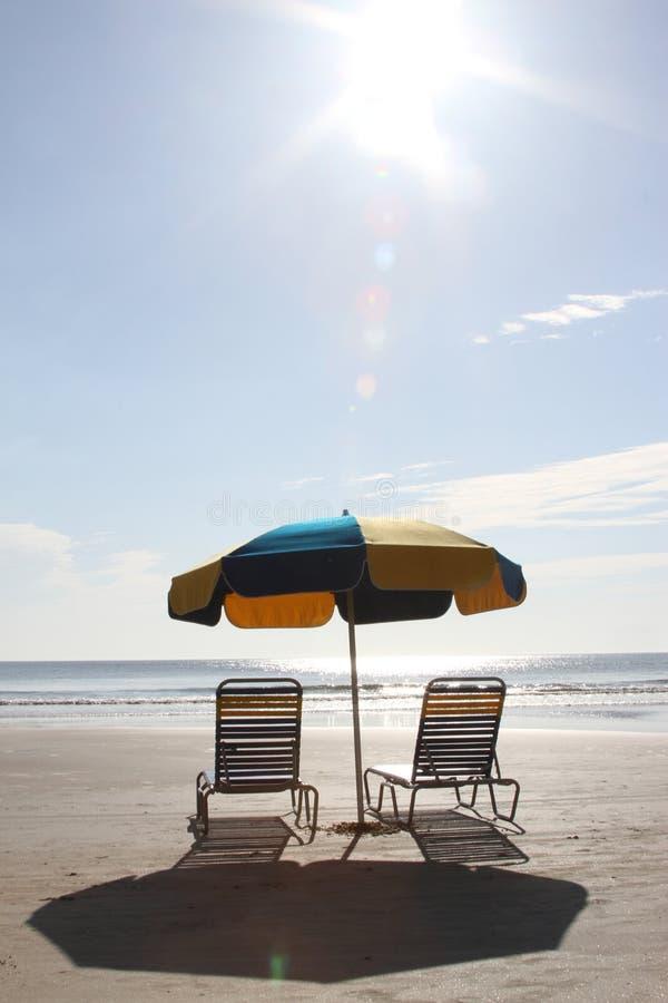 ZONNIGE DAG IN DAYTONA BEACH royalty-vrije stock foto