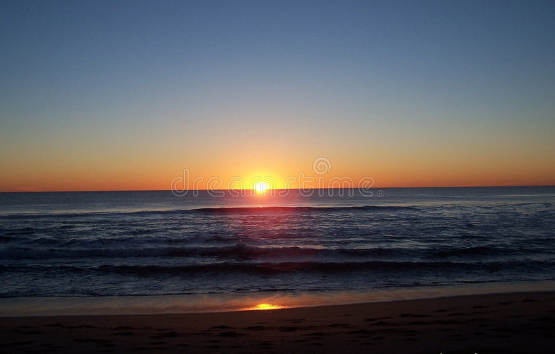 Zonsondergang 12 stock afbeelding