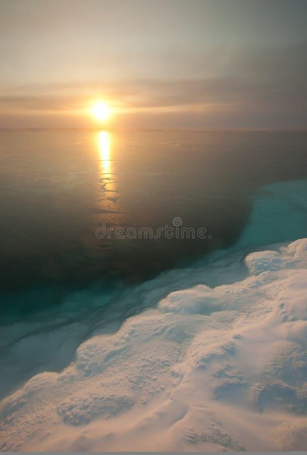 ? zonsondergang stock foto