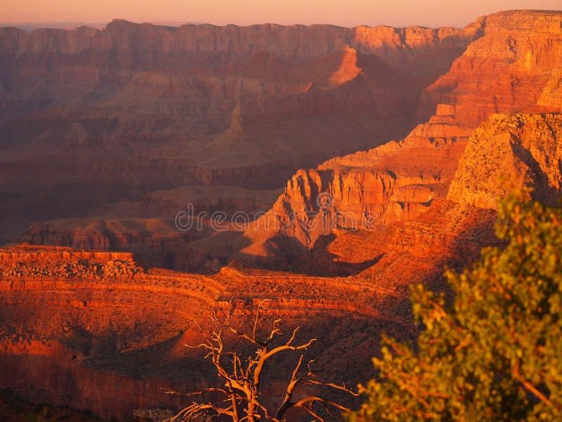 Zonsondergang 3 van Grandview stock fotografie