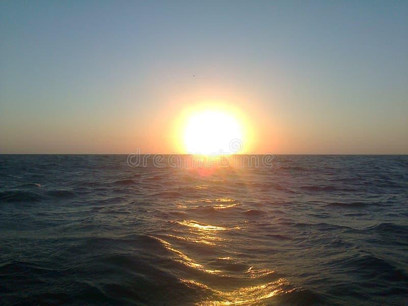 Zonsondergang stock fotografie