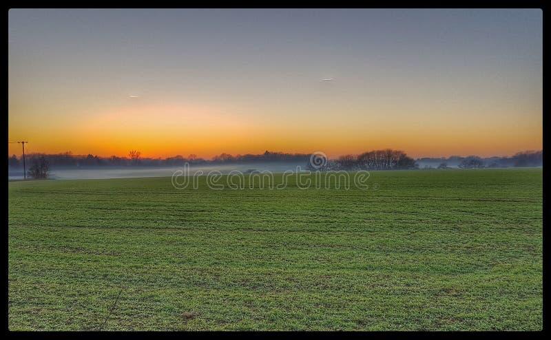 Zonsondergang royalty-vrije stock foto