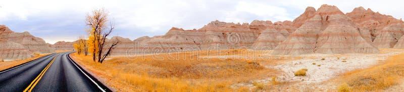 Badlands, Zuid-Dakota, Verenigde Staten stock foto