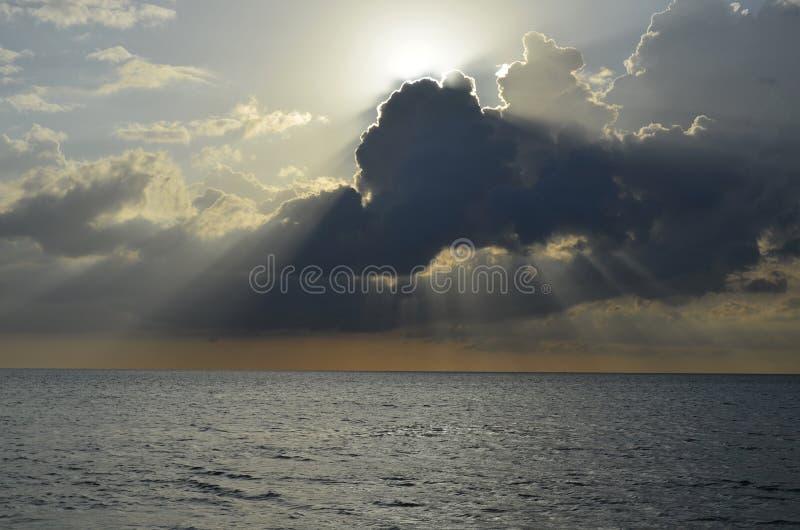 Zonsondergang, Florida stock foto