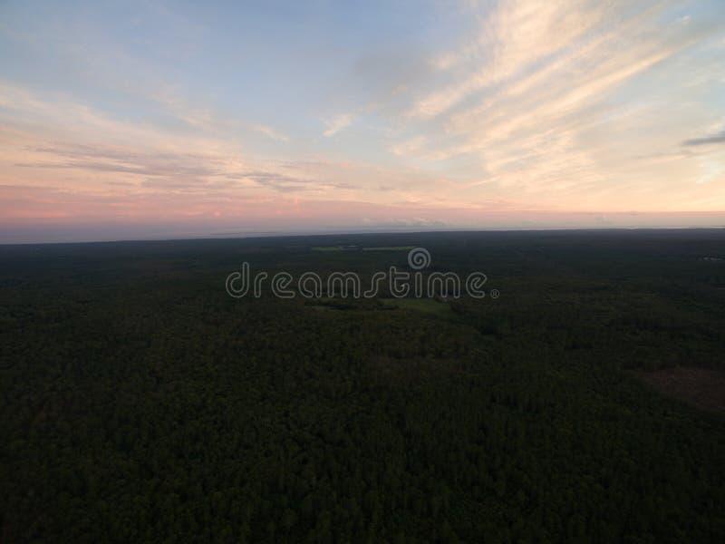 Zonsondergang in Hopevalley stock fotografie