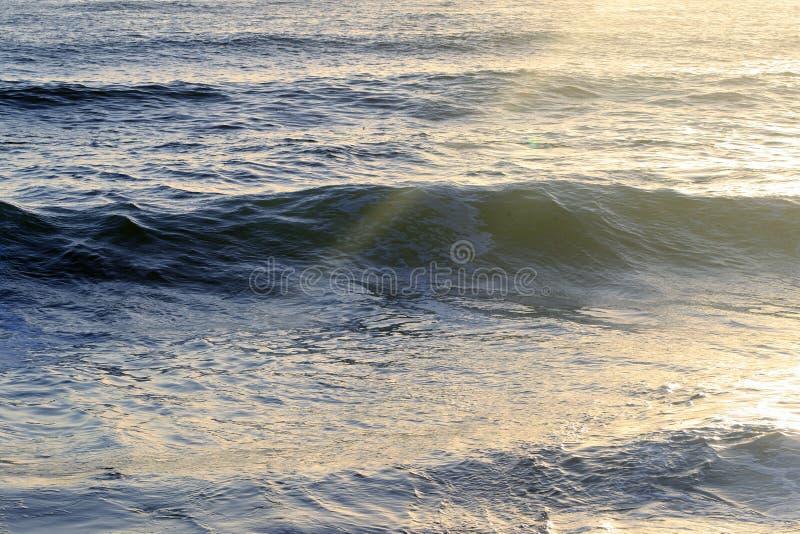 Zonsondergang Oceaan royalty-vrije stock afbeelding