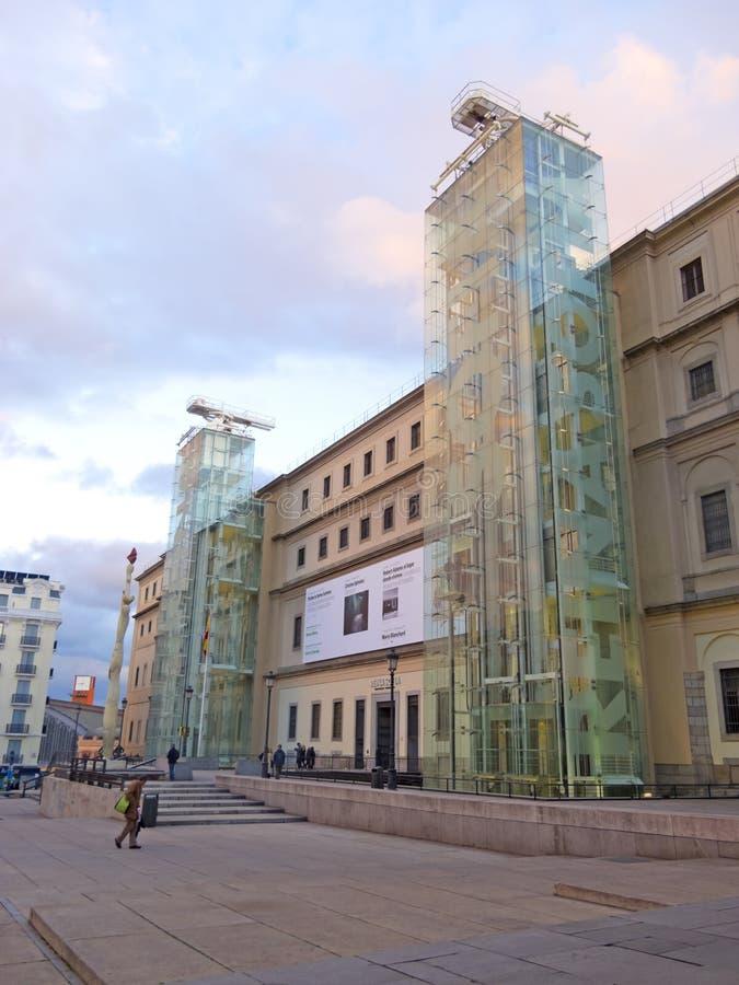 Reina het Museum van Sofia. Madrid royalty-vrije stock afbeeldingen