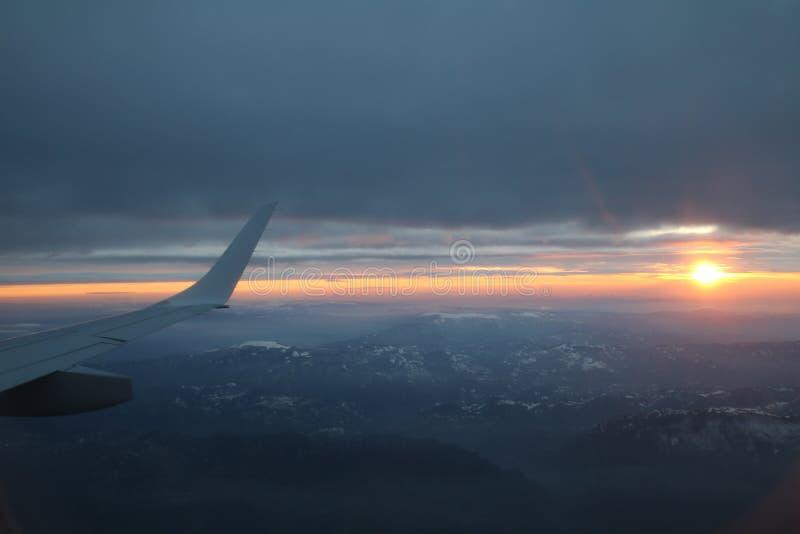 Zonsondergang van de hemel royalty-vrije stock foto's