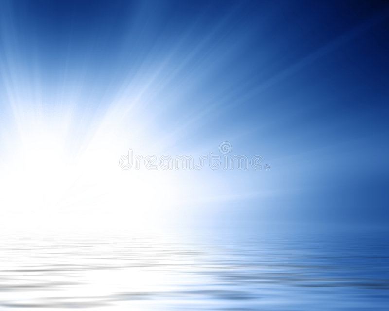 Zonsopgang vector illustratie