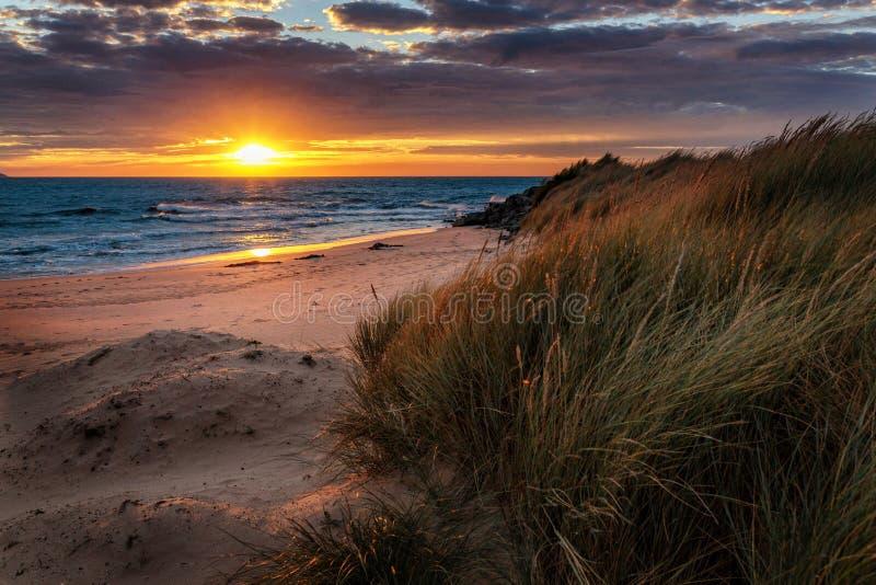 Zonsopgang bij Opollo-Baai, Grote Oceaanweg, Victoria, Australië royalty-vrije stock foto