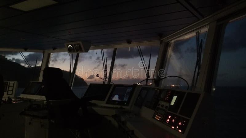 Zonsopgang op Caraïbisch Eiland Het zeeleven royalty-vrije stock fotografie