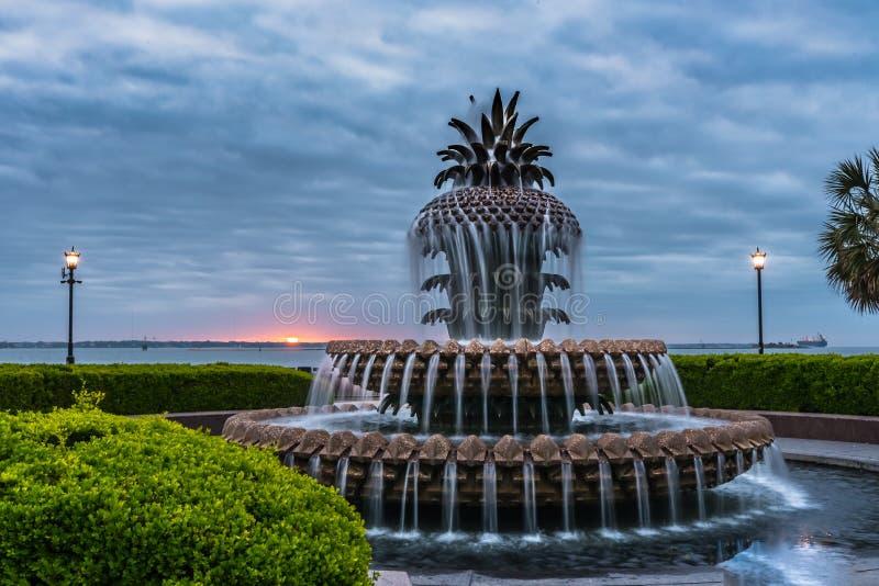 Zonsopgang op Pasen-Ochtend in Charleston royalty-vrije stock fotografie
