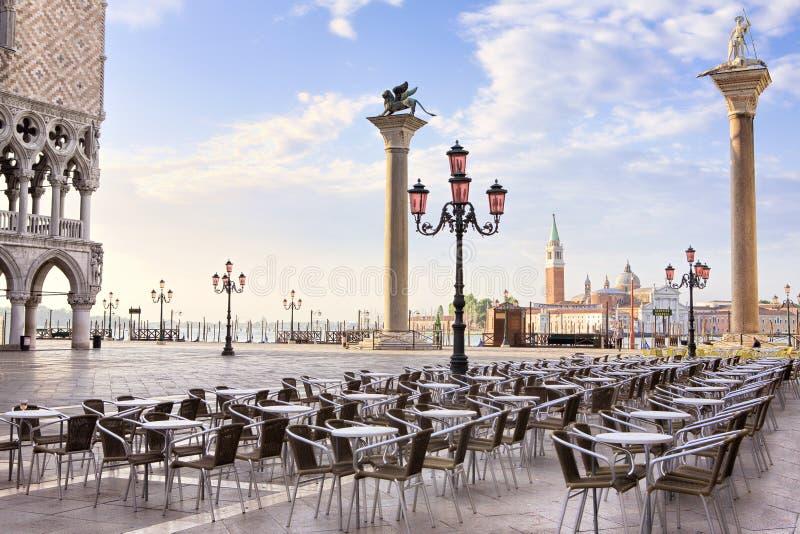 Zonsopgang in Venetië stock afbeeldingen
