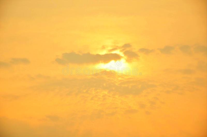 zonsopgang of zonsondergang royalty-vrije stock afbeelding