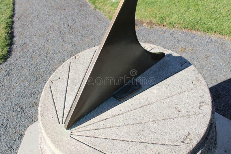 Zonwijzerplaat stock afbeelding