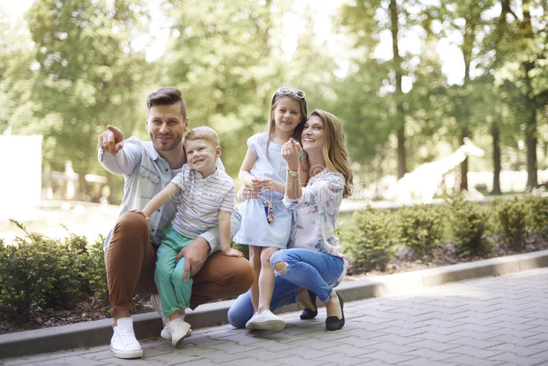 Download Zoo stock photo. Image of casual, offspring, children - 93926762