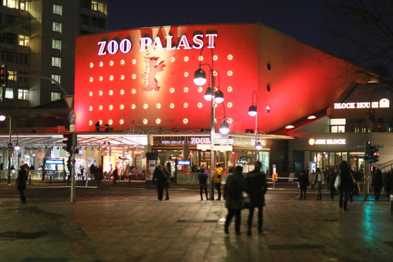 Zoo Palast immagini stock libere da diritti