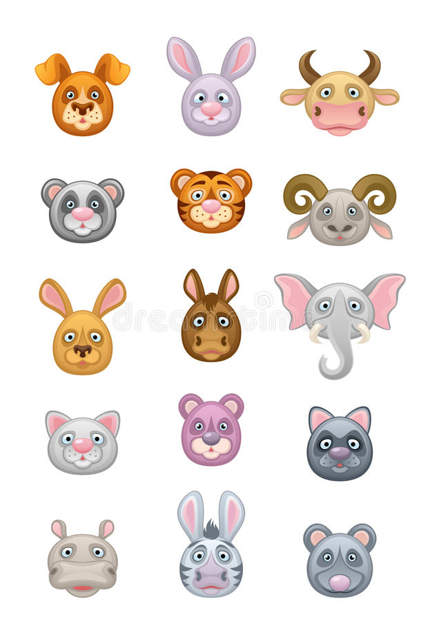 Zoogdier vector illustratie