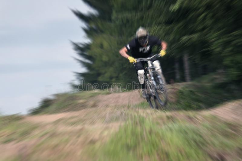 Zumbido 21 do Mountain bike foto de stock royalty free
