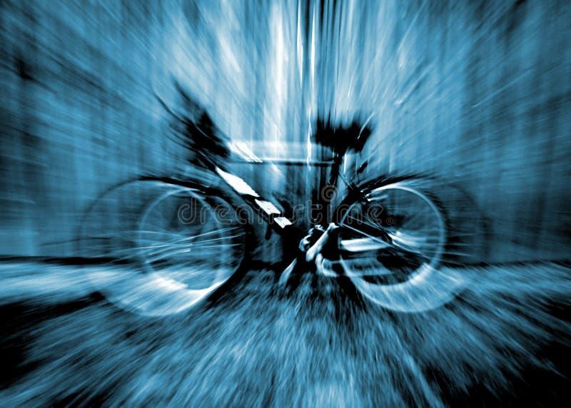 Zoom da bicicleta fotografia de stock royalty free