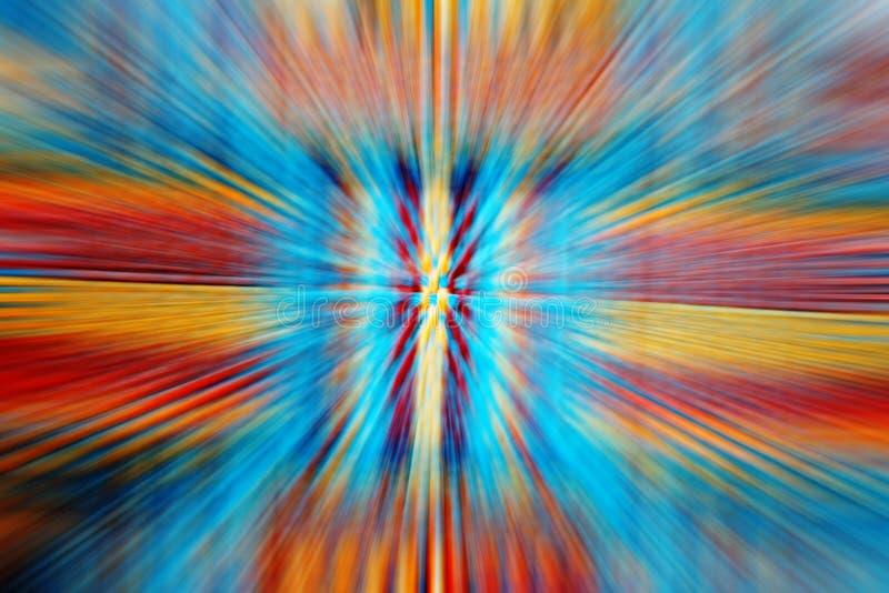 Zoom del color ilustración del vector