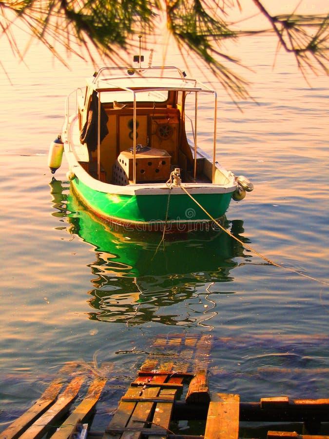 Zoom della barca fotografie stock