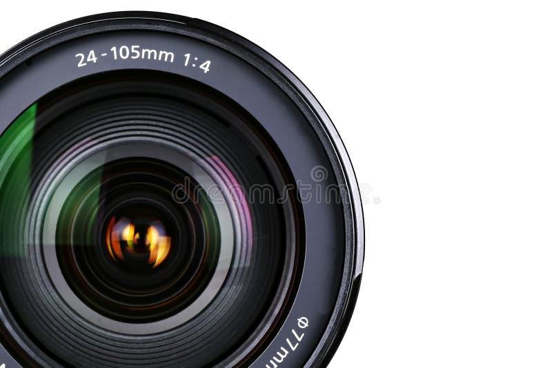 zoom för kameralins royaltyfria foton