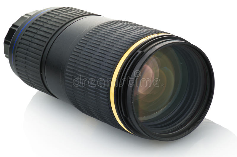 Download Zoom lens stock image. Image of length, hood, camera - 23653455