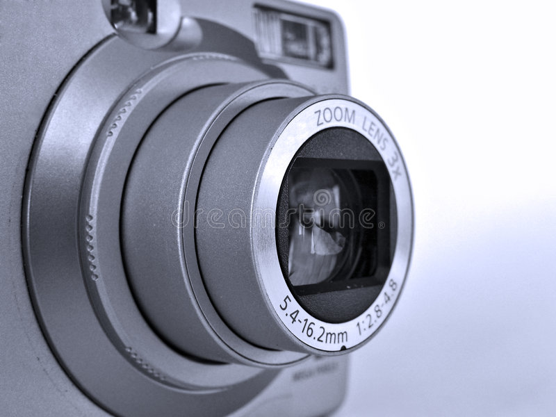 Download Zoom lens stock image. Image of electronics, white, abstract - 89681