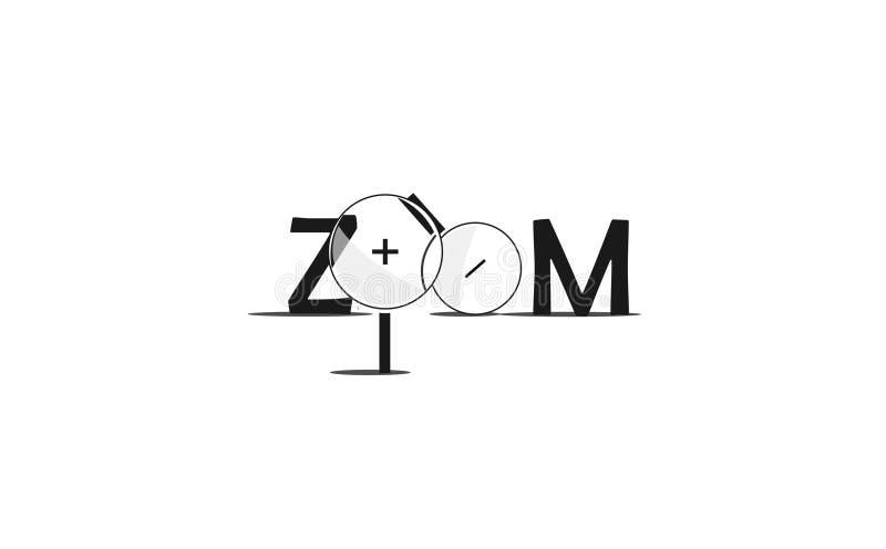 Zoomwerkzeug lizenzfreie stockfotos