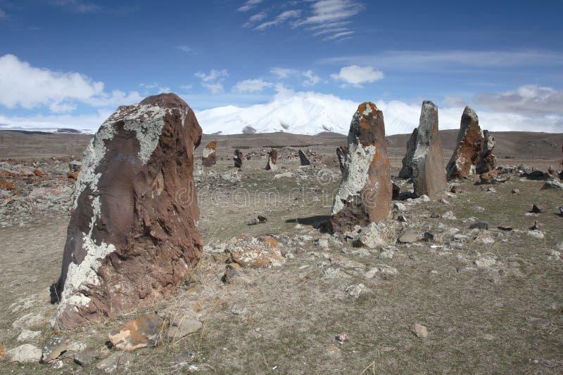 Zoratsquarer en Armenia fotografía de archivo libre de regalías