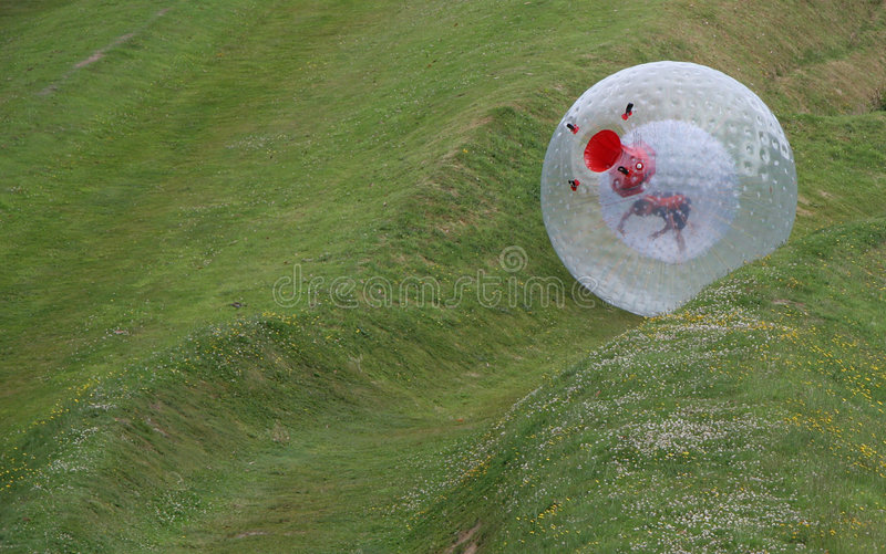 Zorb royalty free stock photography