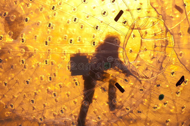 Zorbing Royalty Free Stock Images
