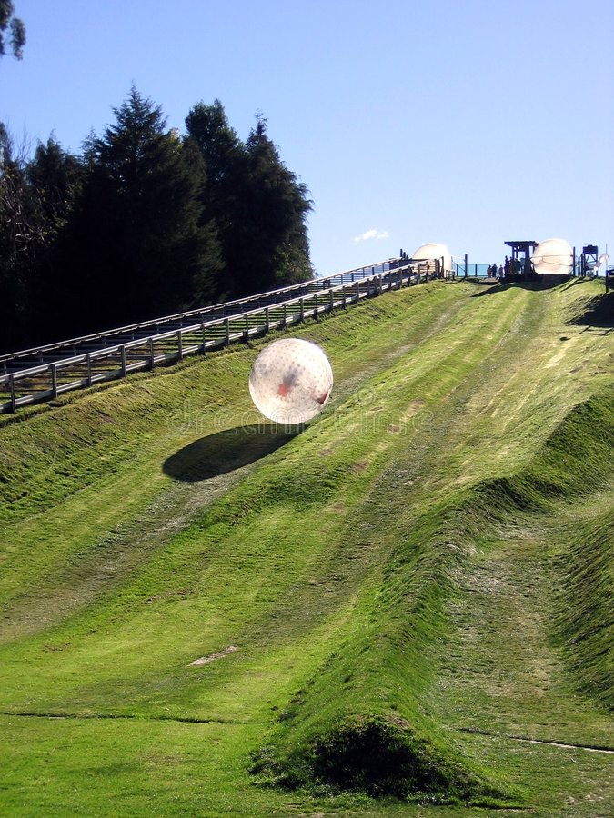 Download Zorbing stock image. Image of down, drop, hydro, zorbing - 3152143