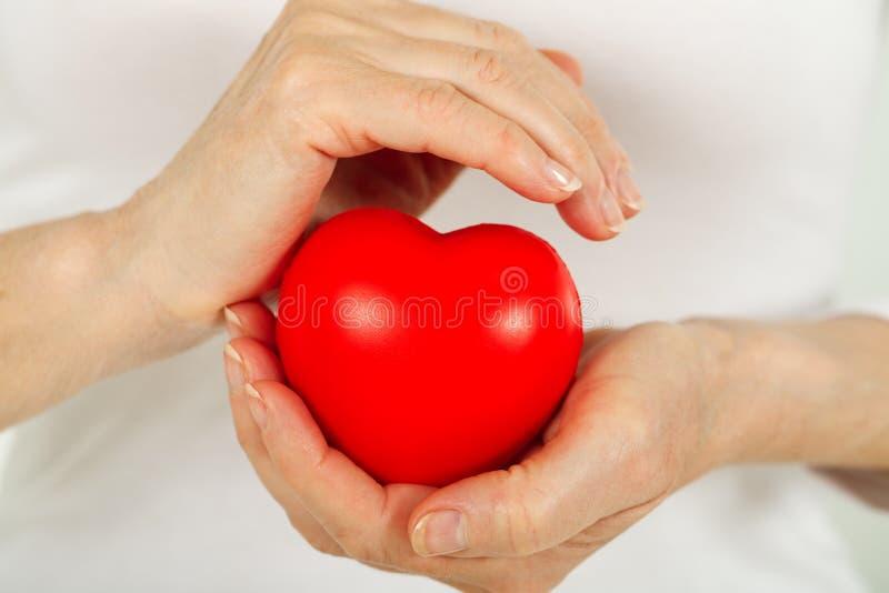 Zorg voor uw hart royalty-vrije stock foto's