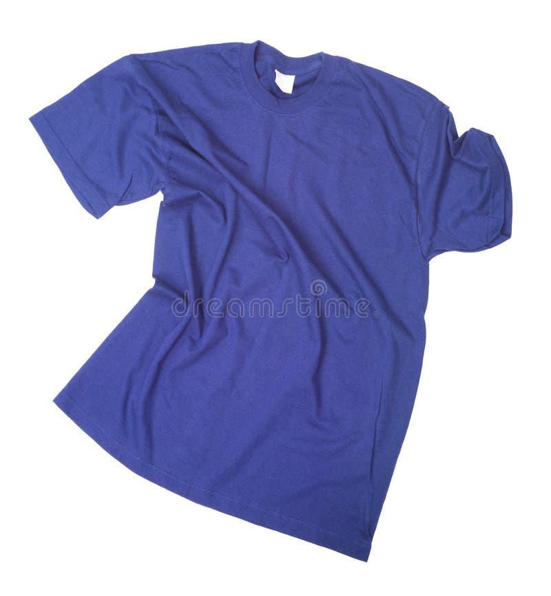 Zorgeloos geworpen die overhemd op wit wordt geïsoleerd stock afbeelding