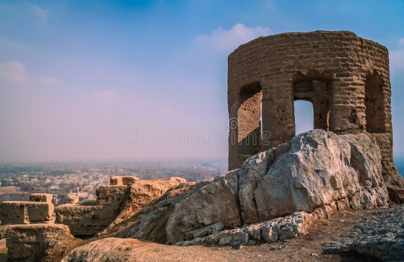 Zoroastrian pożarnicza świątynia zdjęcia stock