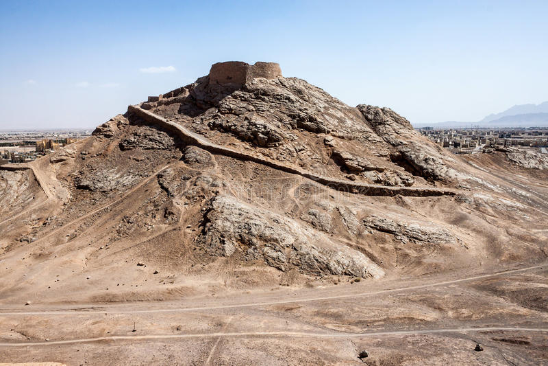 Download Zoroastrinan Tower Of Silence Stock Photo - Image: 31958764