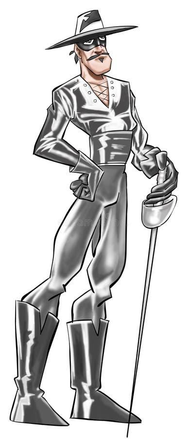 Zorro ilustração do vetor