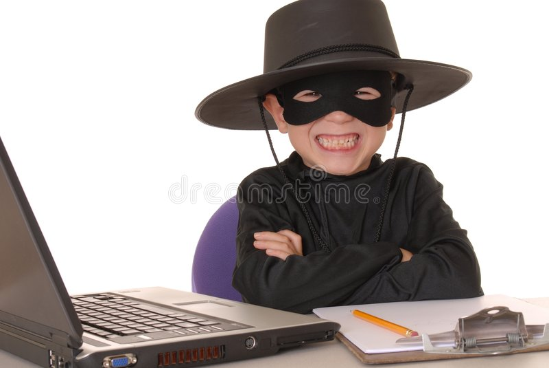 Zorro Help Desk 23 stock images