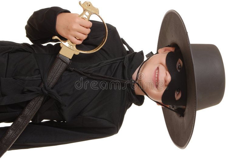Zorro Of The Old West 2 Royalty Free Stock Photos