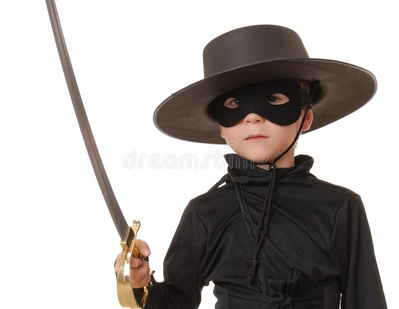 Download Zorro Of The Old West 3 Royalty Free Stock Images - Image: 1327779