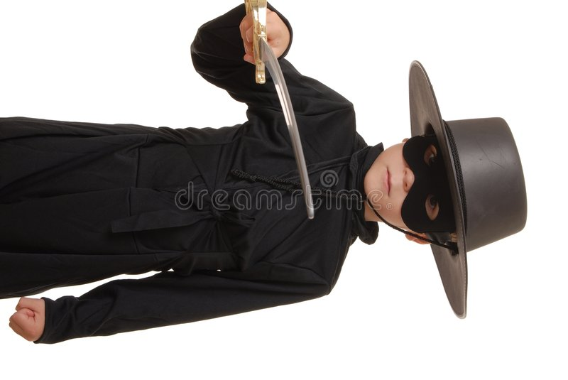Zorro Of The Old West 4 Stock Image