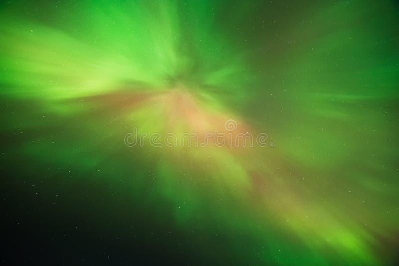 Zorza Borealis, Północni światła, korona słoneczna koszt stały zdjęcia royalty free