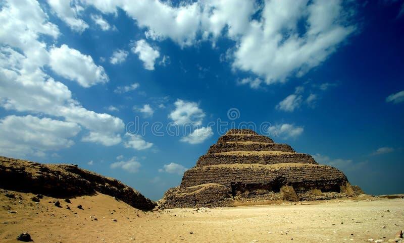 Zoser piramid stock foto
